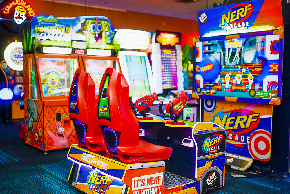 Nerf Arcade game