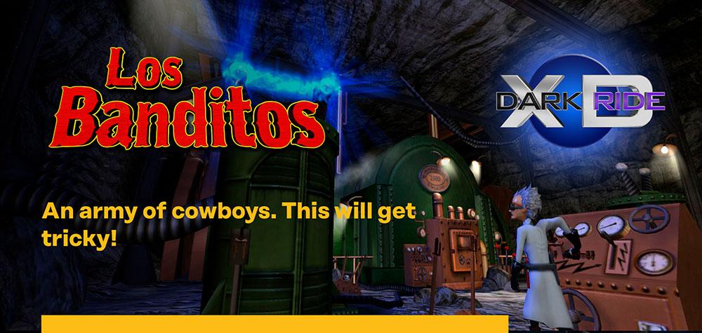 Los Banditos XD Dark Ride