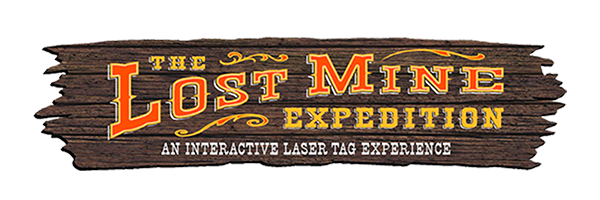 Lost Mine Expedition Laser Tag Logo