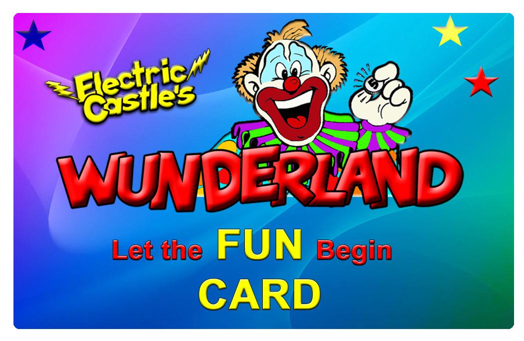 Wunderland Fun Card