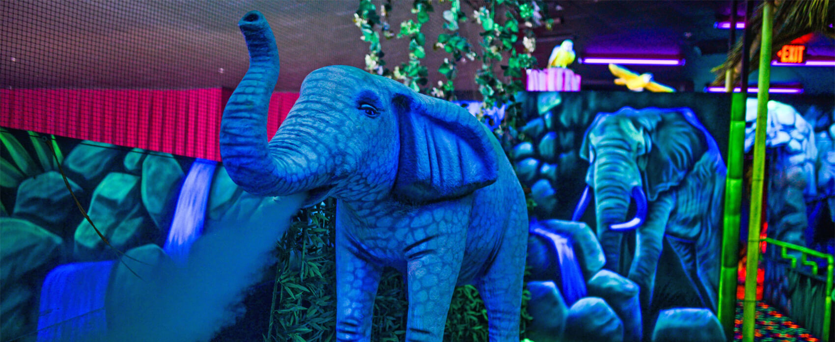Elephant In Mini Golf Course